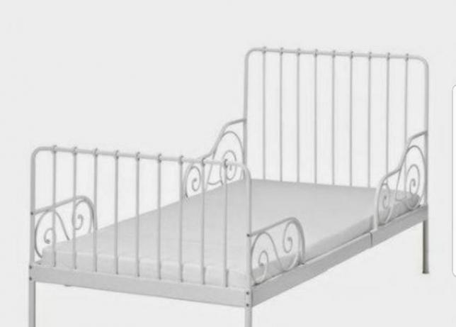 Minnen łóżko Rosnące Razem Z Dzieckiem Ikea Utroń