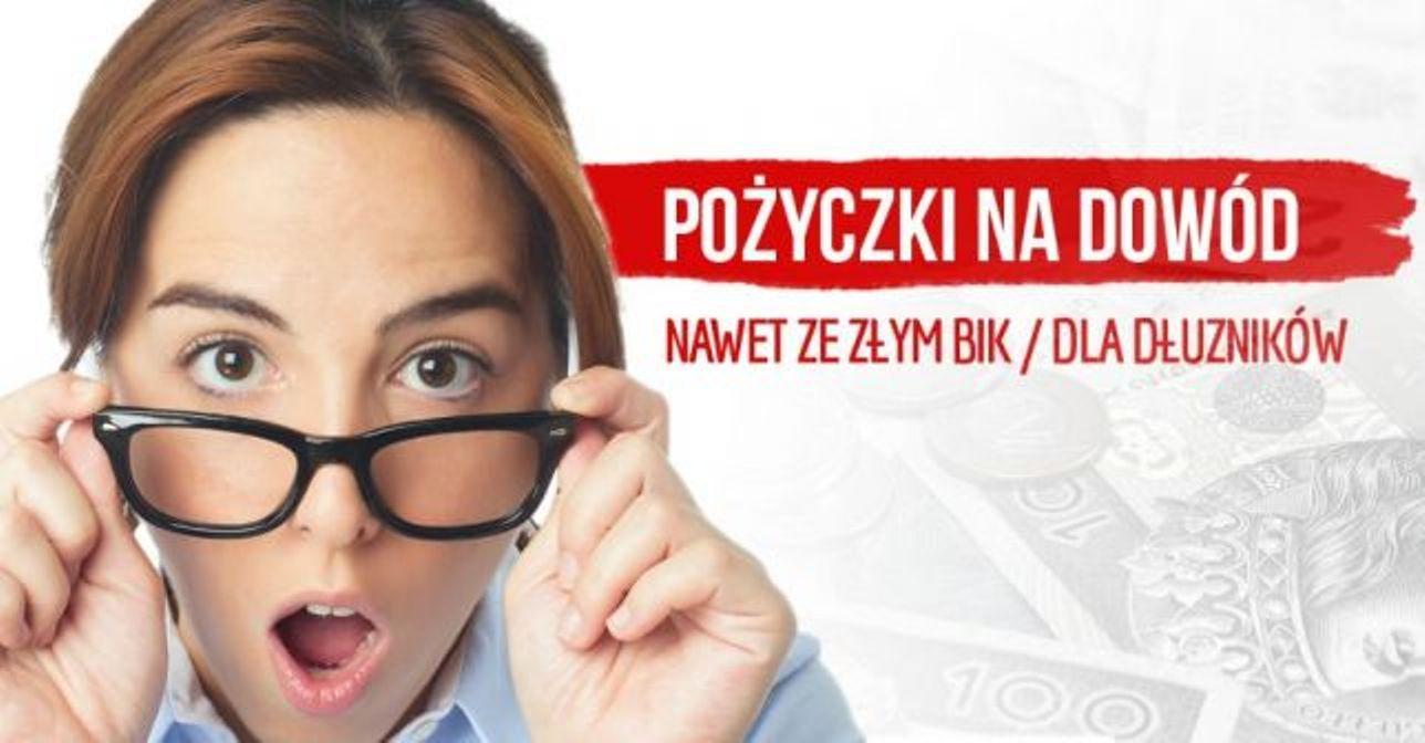 PROMOCJA - Kredyty na dowód online-chwilówki bez bik pożyczki - ELBLĄG.