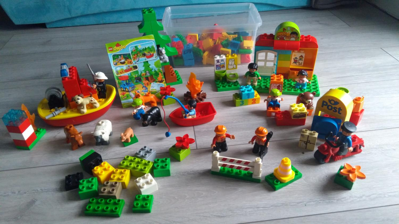 Klocki Lego Duplo Kilka Zestawów Skoczów