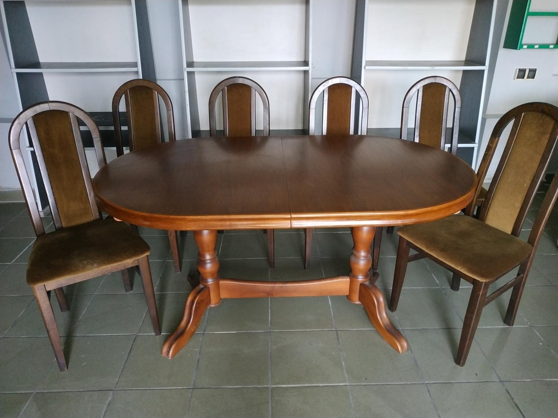 Duzy Rozkladany Stol Na 12 Osob 6 Krzesel Sprzedam Goleszow